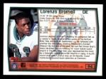 1999 Topps #94  Lorenzo Bromell  Back Thumbnail