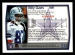 1999 Topps #113  Billy Davis  Back Thumbnail