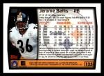 1999 Topps #125  Jerome Bettis  Back Thumbnail
