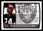 1999 Topps #130  Charles Woodson  Back Thumbnail