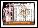 1999 Topps #223  Randall Cunningham  Back Thumbnail