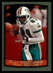 1999 Topps #280  O.J. McDuffie  Front Thumbnail