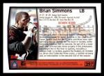 1999 Topps #297  Brian Simmons  Back Thumbnail