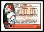 1999 Topps #324  Jerris McPhail  Back Thumbnail