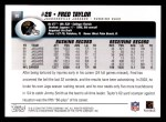 2004 Topps #90  Fred Taylor  Back Thumbnail