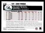 2004 Topps #91  Zach Thomas  Back Thumbnail