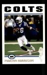 2004 Topps #175  Marvin Harrison  Front Thumbnail