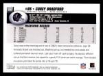 2004 Topps #207  Corey Bradford  Back Thumbnail