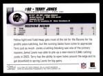 2004 Topps #212  Terry Jones  Back Thumbnail