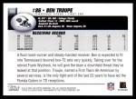 2004 Topps #328  Ben Troupe  Back Thumbnail