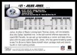 2004 Topps #351  Julius Jones  Back Thumbnail