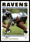 2004 Topps #358  Dwan Edwards  Front Thumbnail