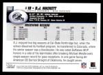 2004 Topps #364  D.J. Hackett  Back Thumbnail