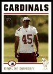 2004 Topps #381  Karlos Dansby  Front Thumbnail