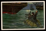 1954 Bowman U.S. Navy Victories #36   First American Submarine Front Thumbnail