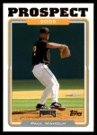 2005 Topps Update #101  Paul Maholm  Front Thumbnail