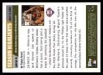 2005 Topps Update #113   -  Bobby Abreu  Highlights Back Thumbnail