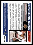 2005 Topps Update #148   -  Brian Roberts All-Star Back Thumbnail