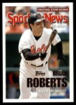 2005 Topps Update #148   -  Brian Roberts All-Star Front Thumbnail