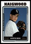 2005 Topps Update #243  Daniel Haigwood   Front Thumbnail