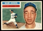 1956 Topps #259  Sam Jones  Front Thumbnail