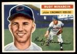 1956 Topps #36  Rudy Minarcin  Front Thumbnail