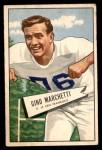 1952 Bowman Small #23  Gino Marchetti  Front Thumbnail