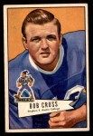 1952 Bowman Small #102  Bob Cross  Front Thumbnail