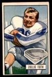 1951 Bowman #45  Zollie Toth  Front Thumbnail