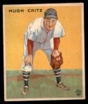 1933 Goudey #238  Hugh Critz  Front Thumbnail