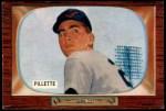 1955 Bowman #244  Duane Pillette  Front Thumbnail