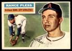 1956 Topps #339  Rance Pless  Front Thumbnail