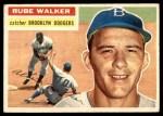 1956 Topps #333  Rube Walker  Front Thumbnail