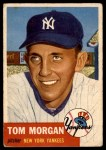 1953 Topps #132  Tom Morgan  Front Thumbnail