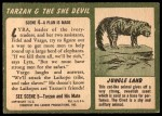 1953 Topps Tarzan and the She Devil #4   A Plan Is Made Back Thumbnail