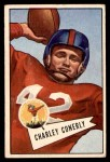 1952 Bowman Small #63  Charley Conerly  Front Thumbnail