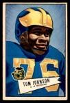 1952 Bowman Small #90  Thomas Johnson  Front Thumbnail