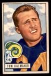 1951 Bowman #77  Tom Kalmanir  Front Thumbnail