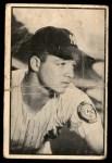 1953 Bowman B&W #54  Bill Miller  Front Thumbnail