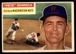 1956 Topps #234  Pete Runnels  Front Thumbnail