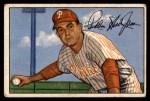 1952 Bowman #20  Willie Jones  Front Thumbnail
