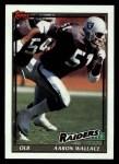 1991 Topps #92  Aaron Wallace  Front Thumbnail