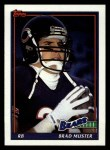 1991 Topps #155  Brad Muster  Front Thumbnail