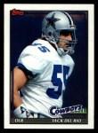 1991 Topps #366  Jack Del Rio  Front Thumbnail