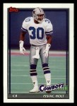 1991 Topps #374  Issiac Holt  Front Thumbnail