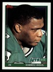 1991 Topps #464  Darrell Davis  Front Thumbnail