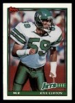 1991 Topps #479  Kyle Clifton  Front Thumbnail