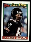 1991 Topps #575  Andre Rison  Front Thumbnail