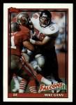 1991 Topps #584  Mike Gann  Front Thumbnail