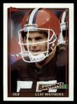 1991 Topps #591  Clay Matthews  Front Thumbnail